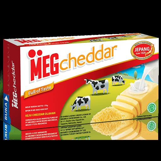 Meg Cheddar 170gr