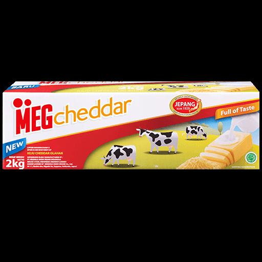 Meg Cheddar 2kg