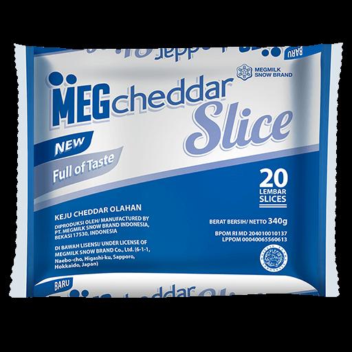 Meg Cheddar Slice 20