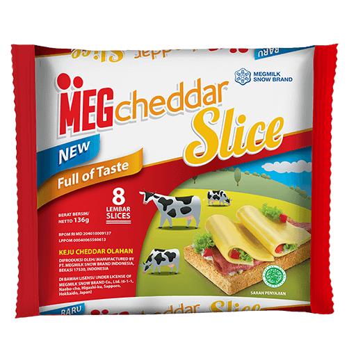 Meg Cheddar Slice 8