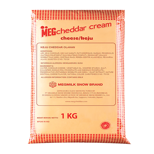 Meg Cream Cheese 1kg