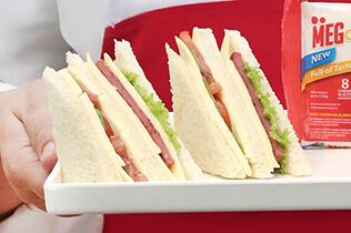 MEG Cheddar Slice 3,8,20